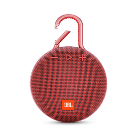 JBL JBL Clip 3 Waterproof Bluetooth Speaker Fiesta red