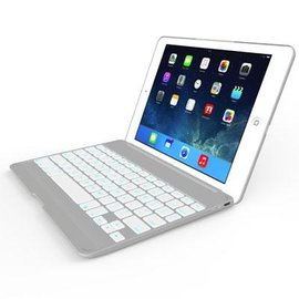 ZAGG ZAGG ZAGGkeys Folio White w/Backlit Keyboard for iPad Air ALL SALES FINAL - NO RETURNS OR EXCHANGES