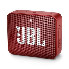 JBL JBL GO2 Waterproof Bluetooth Speaker Ruby Red
