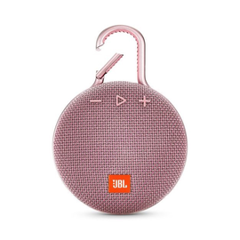 JBL JBL Clip 3 Waterproof Bluetooth Speaker Dusty Pink