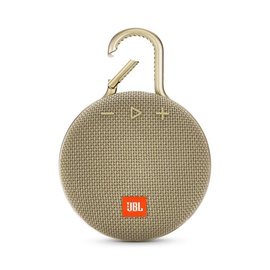 JBL JBL Clip 3 Waterproof Bluetooth Speaker Desert Sand
