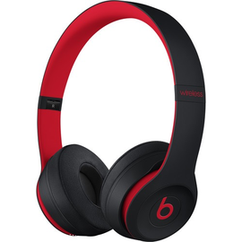 Beats Beats Solo3 Wireless On-Ear Headphones - Defiant Black/Red