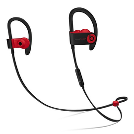 Beats Beats Powerbeats3 Wireless In-Ear Headphones - Decade Collection - Defiant Black/Red