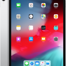 "Apple Apple iPad Pro 12.9"" (3rd gen) Wi-Fi + Cellular 256gb Silver (late 2018)"