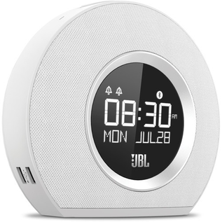 JBL JBL Horizon Bluetooth Speaker Clock Radio White