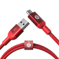 Adam Elements Adam Elements CASA M100 USB-C to USB3.0 Male Braided Cable 3.3ft (1m) Red