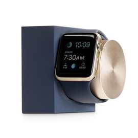 Native Union Native Union Apple Watch Dock - Marine/Gold (charging cable not included)
