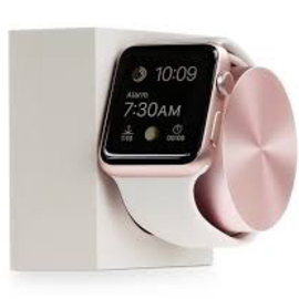 Native Union Native Union Apple Watch Dock - Stone/Rose Gold (charging cable not included)