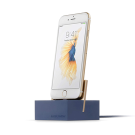 Native Union Native Union iPhone Charging Dock + Lightning Cable Marine