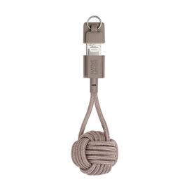 Native Union Native Union Braided Lightning Key Cable - Taupe