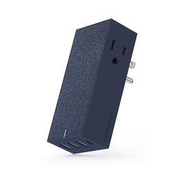 Native Union Native Union Smart Hub Wall Charger - 3 USB Ports, 1 USB-C Port, 2 AC Outlets - 5.4A - Marine