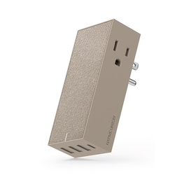 Native Union Native Union Smart Hub Wall Charger - 3 USB Ports, 1 USB-C Port, 2 AC Outlets - 5.4A - Taupe