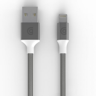 Griffin Griffin Premium Braided Lightning Cable 5ft Silver