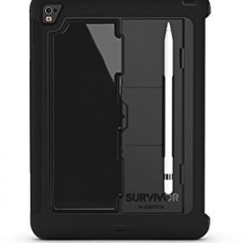 Griffin Griffin Survivor Slim Case for iPad Pro 9.7 Black/Black/Black ALL SALES FINAL - NO RETURNS AND EXCHANGES