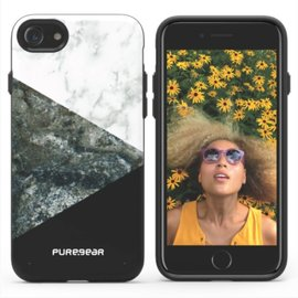 Pure Gear Pure Gear Motif Series Case for iPhone 7 Stone and Black