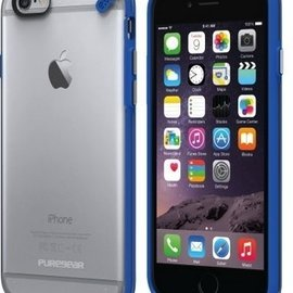Pure Gear Pure Gear Slim Shell Pro Case for iPhone 6s/6 Clear/Blue