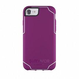 Griffin Griffin Survivor Journey Case for iPhone 8/7/6s/6 - Sangria/White (WSL)