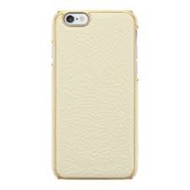 Adopted Adopted Leather Wrap Case for iPhone 6 White/Gold ALL SALES FINAL - NO RETURNS OR EXCHANGES