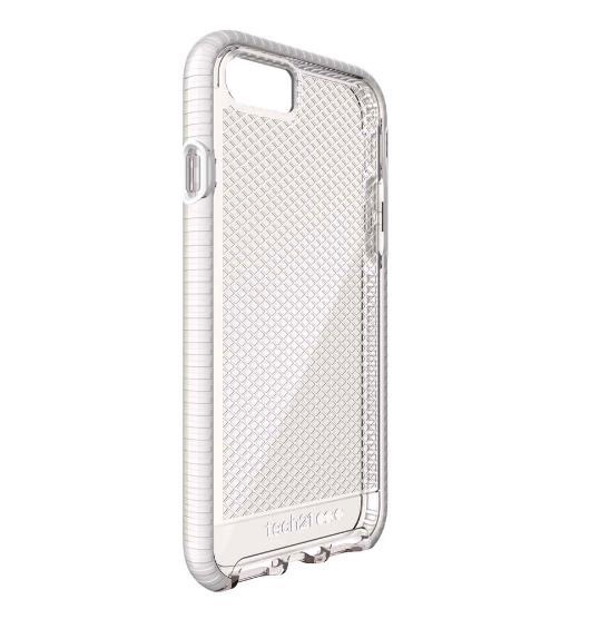 on sale 10c3b c7163 Tech21 Tech21 Evo Check Case for iPhone 8/7 Clear/White