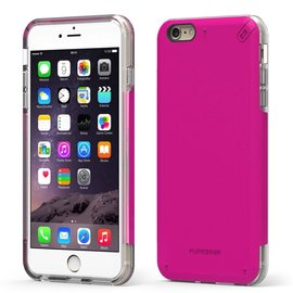 Pure Gear Pure Gear Dual Tek Pro Case for iPhone 6s/6 Plus Pink/Clear