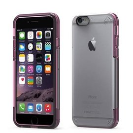 Pure Gear Pure Gear Slim Shell Pro Case for iPhone 6s/6 Clear/Pink