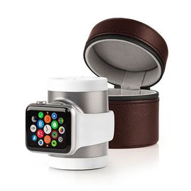 iWires iWires Recharge Apple Watch Power and Travel Case 1000mAh White/Silver (watch charge cable not included)