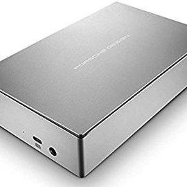 LaCie LaCie 8TB Porsche Design Desktop USB-C Drive (includes USB-C to USB adapter cable)