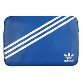 "Adidas Adidas Molded Sleeve for MacBook 15"" - Bluebird/White ALL SALES FINAL - NO RETURNS OR EXCHANGES"