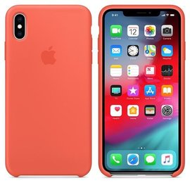 Apple Apple Silicone Case for iPhone Xs Max - Nectarine (WSL)