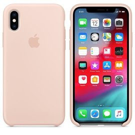 Apple Apple Silicone Case for iPhone Xs - Pink Sand (WSL)