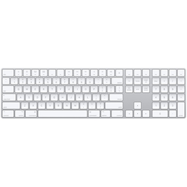 Apple Apple Magic Keyboard with Numeric Keypad Silver w/ lightning USB cable