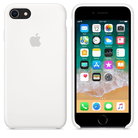 Apple Apple Silicone Case for iPhone 8/7 - White