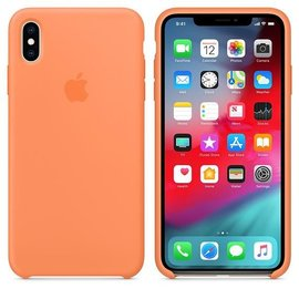 Apple Apple Silicone Case for iPhone Xs Max - Papaya (WSL)
