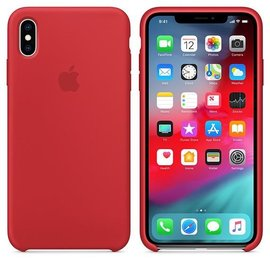 Apple Apple Silicone Case for iPhone Xs Max - Product Red (WSL)