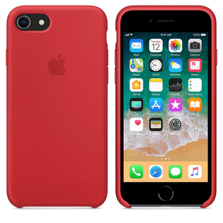 Apple Apple Silicone Case for iPhone (SE 2020)/8/7 - PRODUCT RED (While Supplies Last)