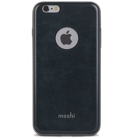 Moshi Moshi iGlaze Napa Case for iPhone 6/6s Plus - Blue ALL SALES FINAL - NO RETURNS OR EXCHANGES