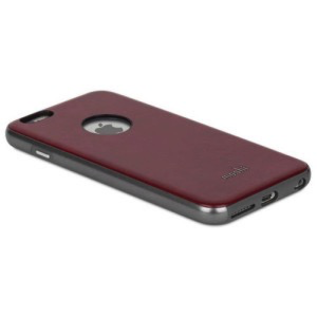 Moshi Moshi iGlaze Napa Case for iPhone 6/6s Plus - Red ALL SALES FINAL - NO RETURNS OR EXCHANGES