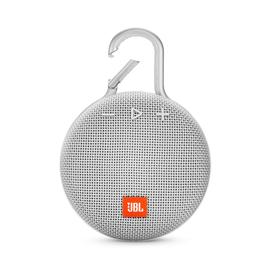 JBL JBL Clip 3 Waterproof Bluetooth Speaker Steel White