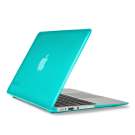 """Speck Speck SeeThru Case for Macbook Air 11"""" - Calypso Blue ALL SALES FINAL NO REFUNDS OR EXCHANGES"""