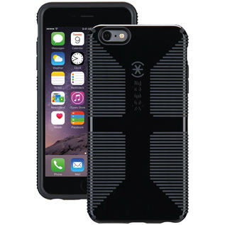 Speck Speck CandyShell Grip Case for iPhone 6s/6 Plus Black/Slate Grey ALL SALES FINAL - NO RETURNS OR EXCHANGES