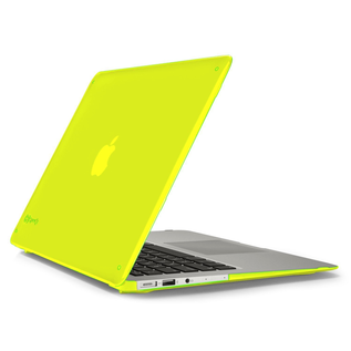 """Speck Speck SeeThru Satin Case for Macbook Air 13"""" (2013-2017) - Lightning Yellow (While Supplies Last)"""