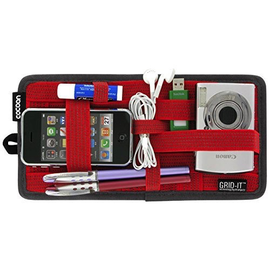 """Cocoon Cocoon GRID-IT!® Organizer Small 10.25"""" x 5.125"""" - Red"""