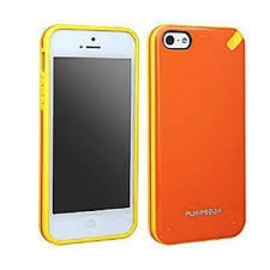 Pure Gear Pure Gear Slim Shell Case for iPhone 5s/5 Mandarin Orange ALL SALES FINAL - NO RETURNS OR EXCHANGES