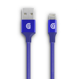 Griffin Griffin Premium Braided Lightning Cable 5ft Blue