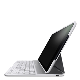 Belkin Belkin QODE Ultimate Keyboard Case for iPad Air - White ALL SALES FINAL - NO RETURNS OR EXCHANGES