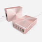 Adam Elements Adam Elements Omnia 6 Port Charging Station - 1 USB-C, 1 QC USB 3.0 , 4 USB Ports - Rose Gold
