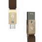 Adam Elements Adam Elements ROMA Dual USB-C/USB 3.0 Flash Drive 128GB - Gold