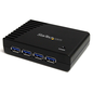 StarTech StarTech 4-Port USB 3.0 Black Powered Hub