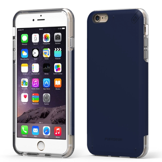Pure Gear Pure Gear Dual Tek Pro Case for iPhone 6s/6 Plus Blue/Clear