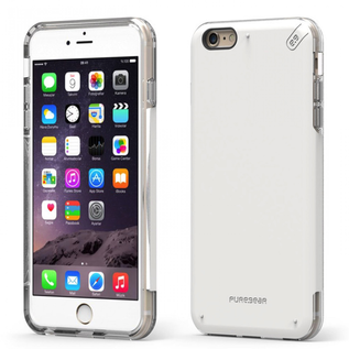 Pure Gear Pure Gear Dual Tek Pro Case for iPhone 6s/6 Plus White/Clear